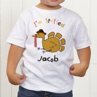 I'm Stuffed Personalized Toddler T-Shirt