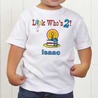 Birthday Kid Personalized Toddler T-shirt