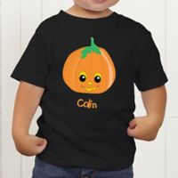 Pumpkin Pal Personalized Toddler T-Shirt