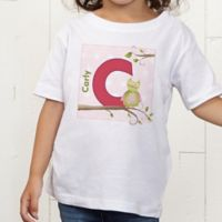 Owl About You Personalized Toddler T-Shirt