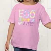 Egg Hunter Personalized Toddler T-Shirt