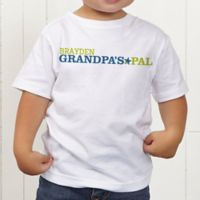 Grandpa's Favorite Personalized Toddler T-Shirt