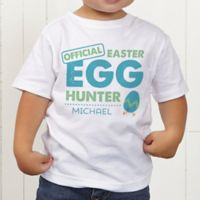 Easter Egg Hunter Personalized Toddler T-Shirt