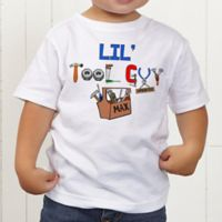 Lil Tool Guy Personalized Toddler T-Shirt