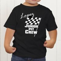 Pit Crew Personalized Toddler T-Shirt
