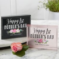 First Mother's Day Personalized Colored Keepsake