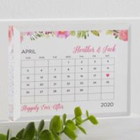 Our Special Day Personalized Colored Keepsake
