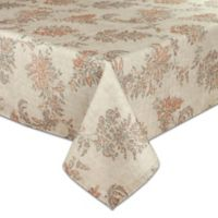 Bardwil Linens Avignon 60-Inch x 102-Inch Tablecloth in Sand