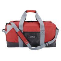 Lewis N. Clark® Convertible Duffle Bag and Neoprene Bag in Red