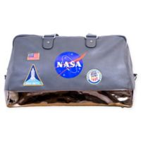 NASA Lifestyle Duffle Bag in Grey