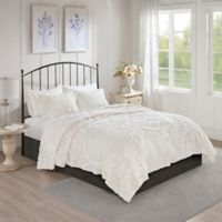 Madison Park Viola King/California King Coverlet Set in White