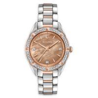 Bulova Sutton Diamond Women's 33m 98R264 Bracelet Watch