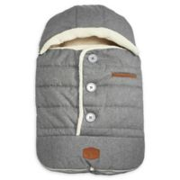JJ Cole® Urban BundleMe® with Buttons and Hood in Light Grey