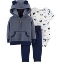 carter's® Size 3M 3-Piece Dog Little Jacket Set