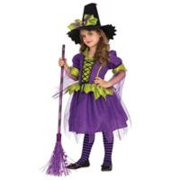 Rubies© Purple Moon Witch Child's XSmall 2-Piece Costume