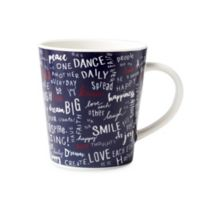 ED Ellen DeGeneres Crafted by Royal Doulton® Create Kindness Mug in Blue