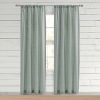 Bee & Willow™ Home Somerton 63-Inch Rod Pocket Window Curtain Panel in Sea Glass