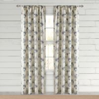 Bee & Willow™ Home Clearwell 108-Inch Rod Pocket Window Curtain Panel in Indigo
