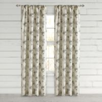Bee & Willow™ Home Clearwell 63-Inch Rod Pocket Window Curtain Panel in Grey