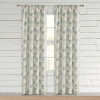 Bee & Willow™ Home Clearwell 84-Inch Rod Pocket Window Curtain Panel in Sea Glass