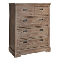 Hillsdale Furniture Oxford 5-Drawer Chest in Cocoa