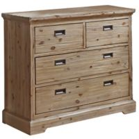 Hillsdale Furniture Oxford 4-Drawer Dresser in Cocoa