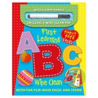 """""""First Learning ABC"""" Hardcover Book"""