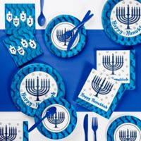Creative Converting™ 73-Piece Menorah Party Supplies Kit