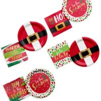 Creative Converting™ 96-Piece Christmas Cocktail Party Supplies Kit