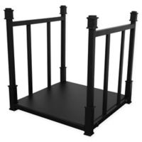 UniFlame® Craftsman 5-Piece Log Rack in Black