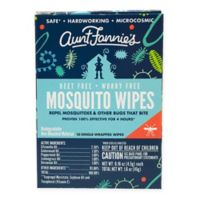 Aunt Fannies 10-Pack Mosquito Wipes