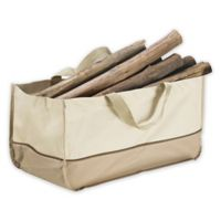 Villacera Extra Large Log Tote in Beige