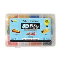 U-Create 400-Piece 3D Pixel Food Creations Activity Kit