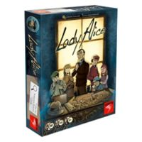 Asmodee Editions Lady Alice Strategy Game