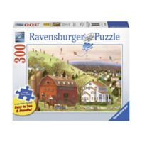 Ravensburger 300-Piece Let's Fly Large Piece Jigsaw Puzzle