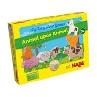 HABA Animal Upon Animal Preschool Game