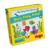 HABA Here, Fishy, Fishy! Preschool Game