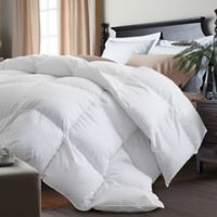Kathy Ireland® White Goose Feather and Goose Down Full/Queen Comforter