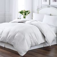 Kathy Ireland® Essentials Down & Feather-Filled Full/Queen Comforter in White