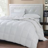 Oslo Goose and Feather Down Comforter in White