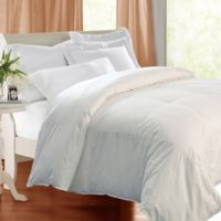 Kathy Ireland Essentials Down and Feather-Filled Twin Comforter in White