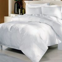 Elle Twin Down Comforter in White