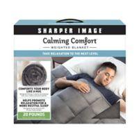 Sharper Image® Calming Comfort 20 lb. Weighted Blanket
