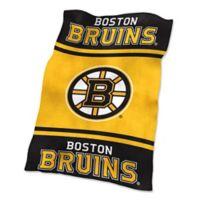 NHL Boston Bruins UltraSoft Blanket
