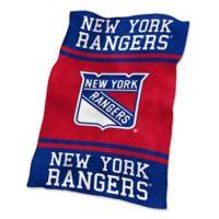 NHL New York Rangers UltraSoft Blanket