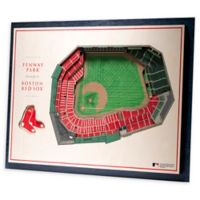 MLB Boston Red Sox 5-Layer Stadium Views 3D Wall Art