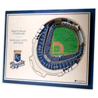 MLB 5-Layer Stadium Views 3D Wall Art