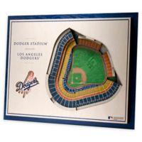 MLB Los Angeles Dodgers 5-Layer Stadium Views 3D Wall Art