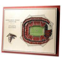 NFL Atlanta Falcons 5-Layer Stadium Views 3D Wall Art