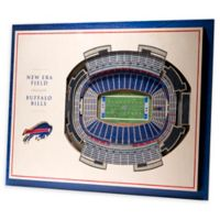 NFL Buffalo Bills 5-Layer Stadium Views 3D Wall Art